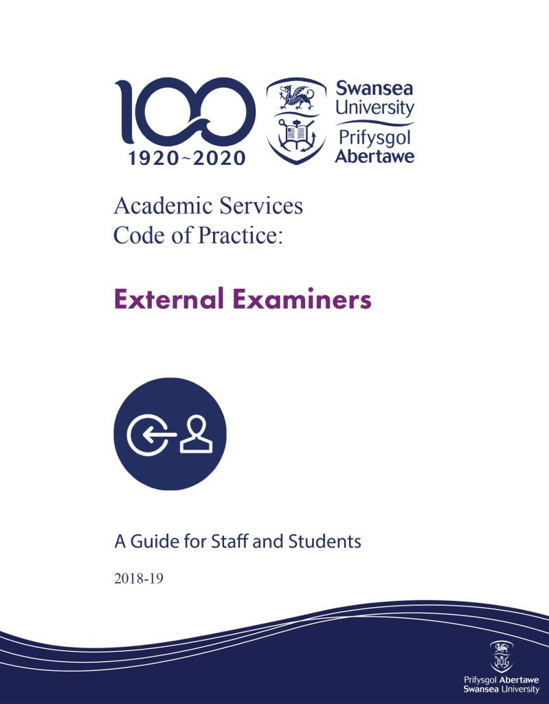 Code of Practice: External Examiners