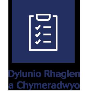 Dylunio Rhaglen a Chymeradwyo