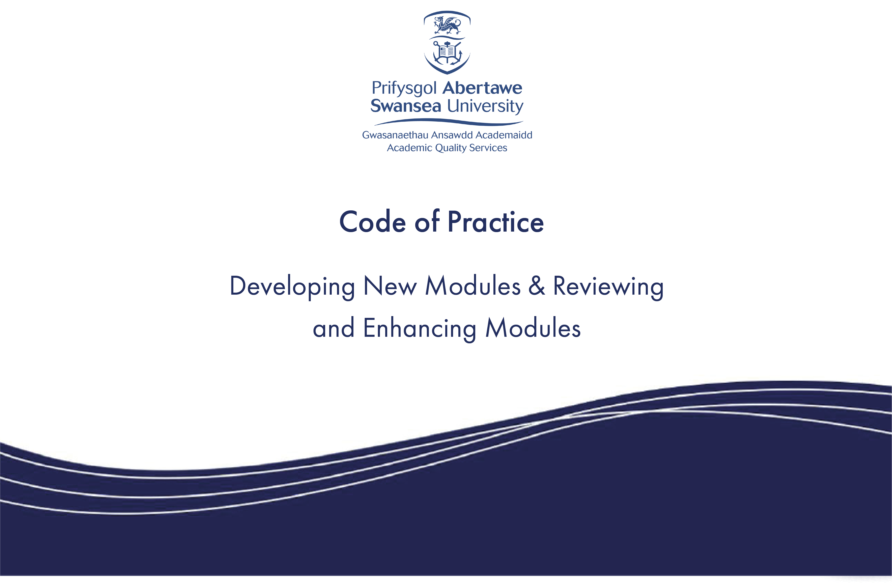 Developing New Modules & Reviewing and Enhancing Modules